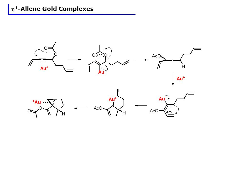 1 -Allene Gold Complexes