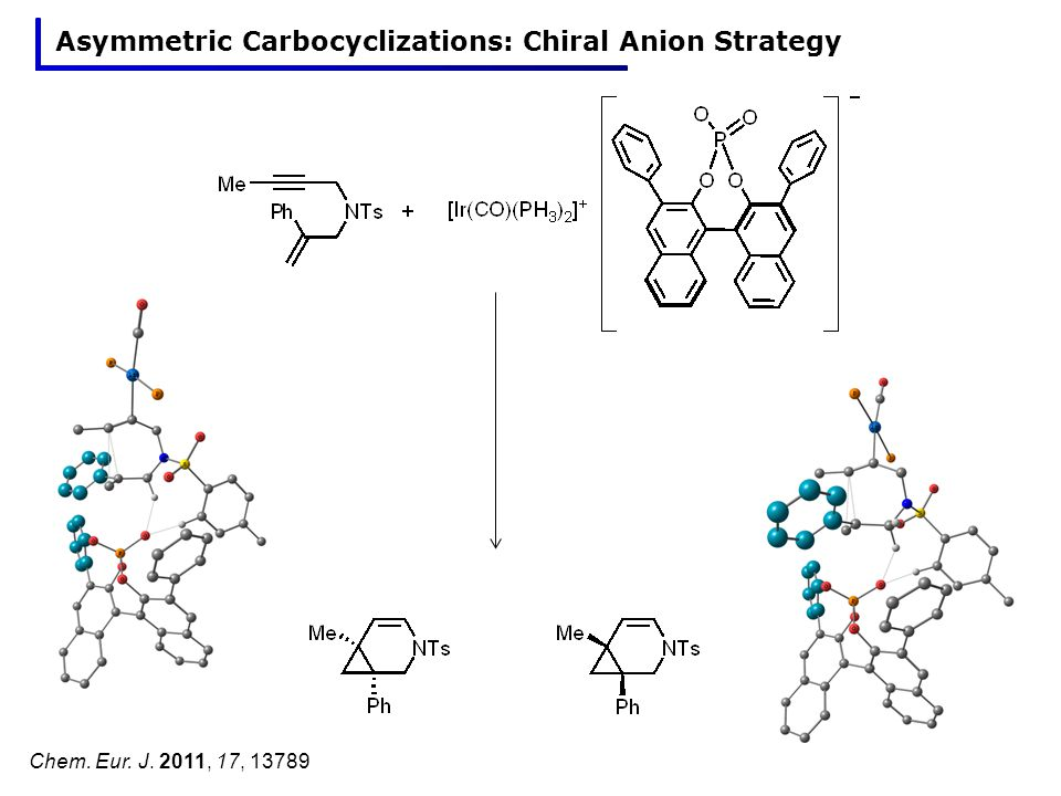 Asymmetric Carbocyclizations: Chiral Anion Strategy Chem. Eur. J. 2011, 17, 13789
