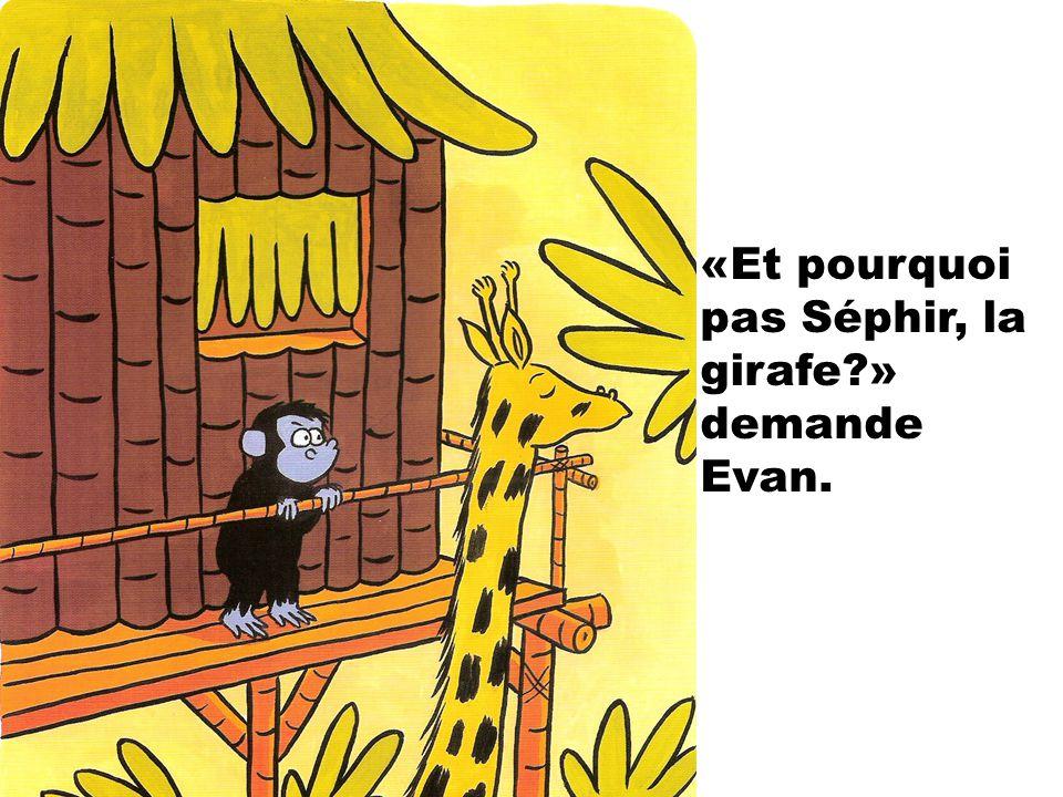 «Moi, je crois que cest Rougeole, le piranha!» sexclame Mael.