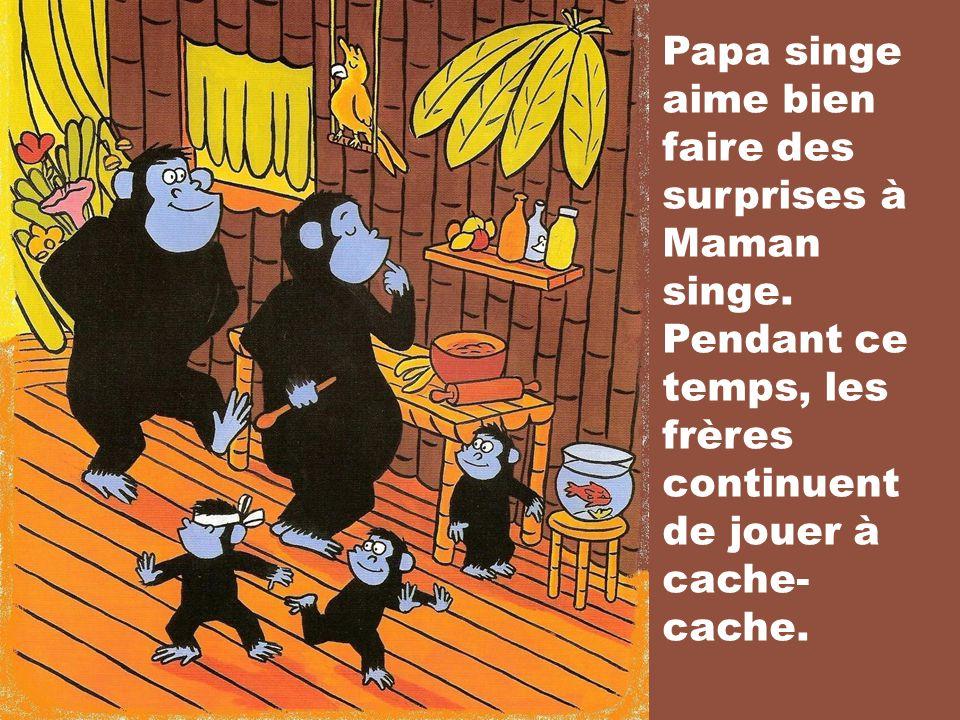Il était une fois, trois petits singes, Enzo, Mael et Evan. Les trois frères aiment bien samuser ensemble toute la journée.