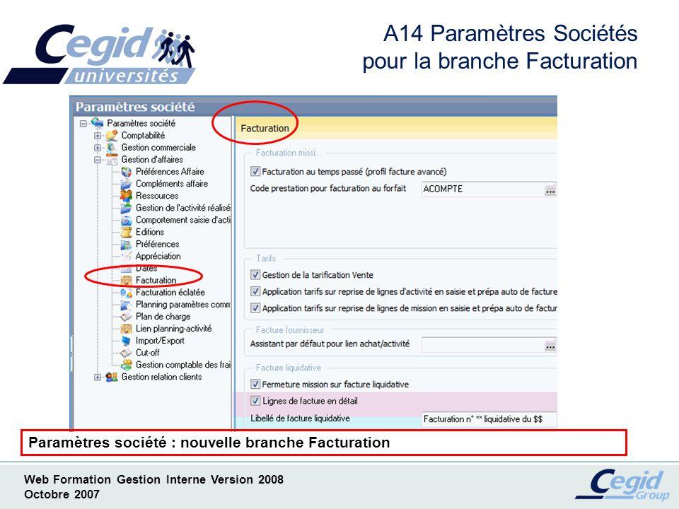 Web Formation Gestion Interne Version 2008 Octobre 2007 A16 Tablettes de correspondance Tablette en correspondance et tables libres suspects