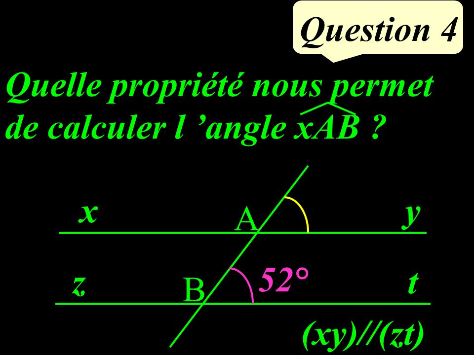 Question 3 Calculer : 3434 5858 -