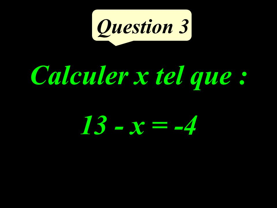 Calculer le volume de ce cube : 4 cm Question 2
