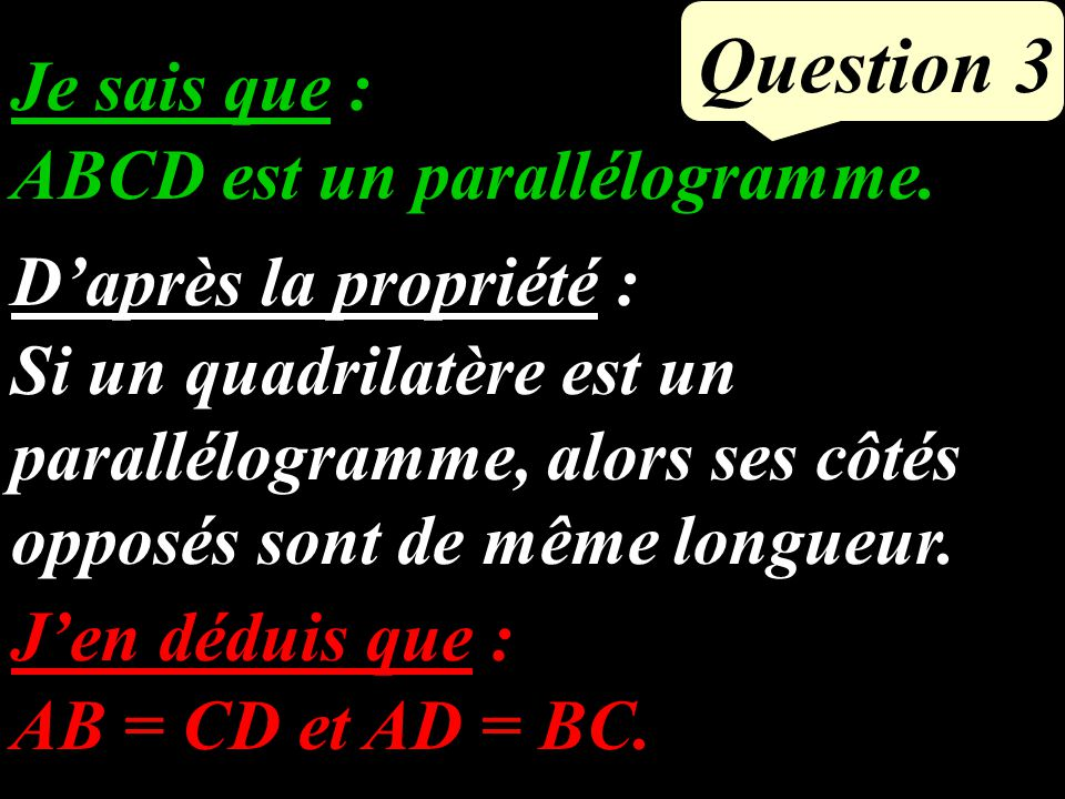 Question 2 427 85 x 4,27 + 15 x 4,27 Factoriser et calculer : = 100 x 4,27 = = (85 + 15) x 4,27
