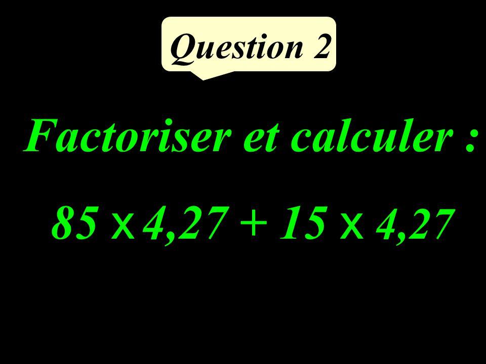 Question 1 Quelle est laire de ce parallélogramme ? 3 14 9 cm D B C A 7,5 cm cm