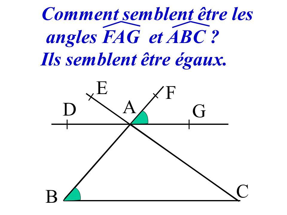 1 Angles d'un triangle