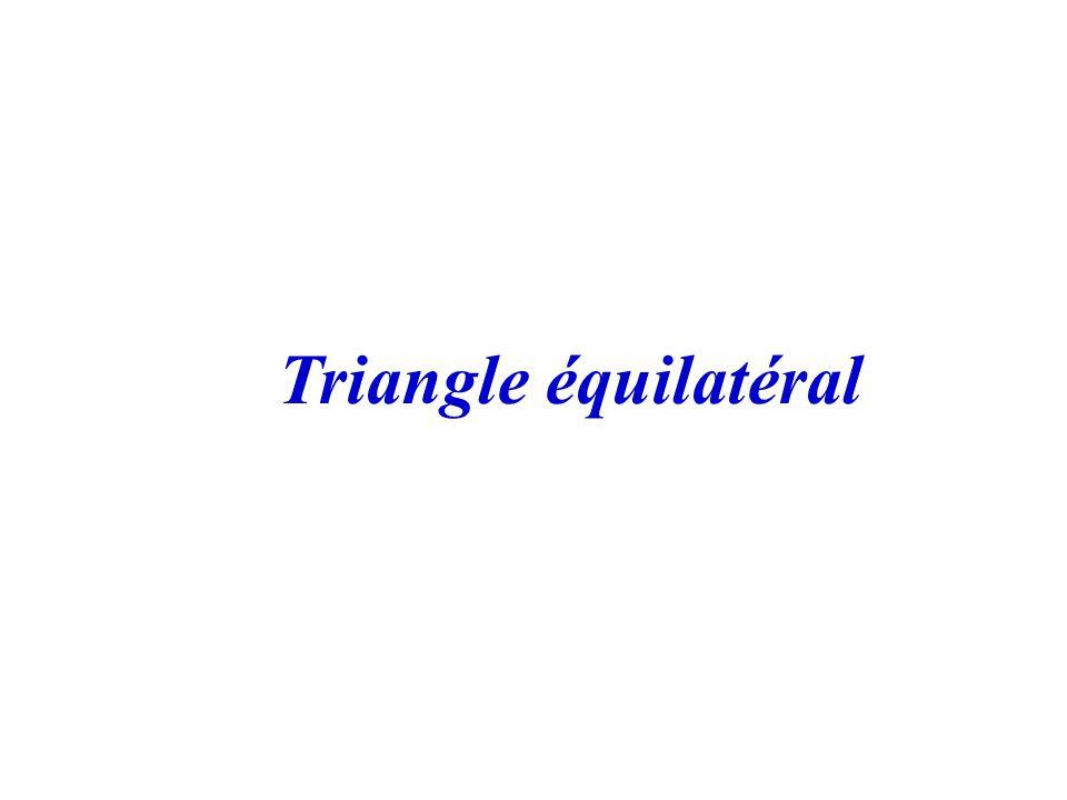A CB 80° 20° B = C = 180° - 20° 2 = 160°2 = 80° ABC est isocèle en A donc