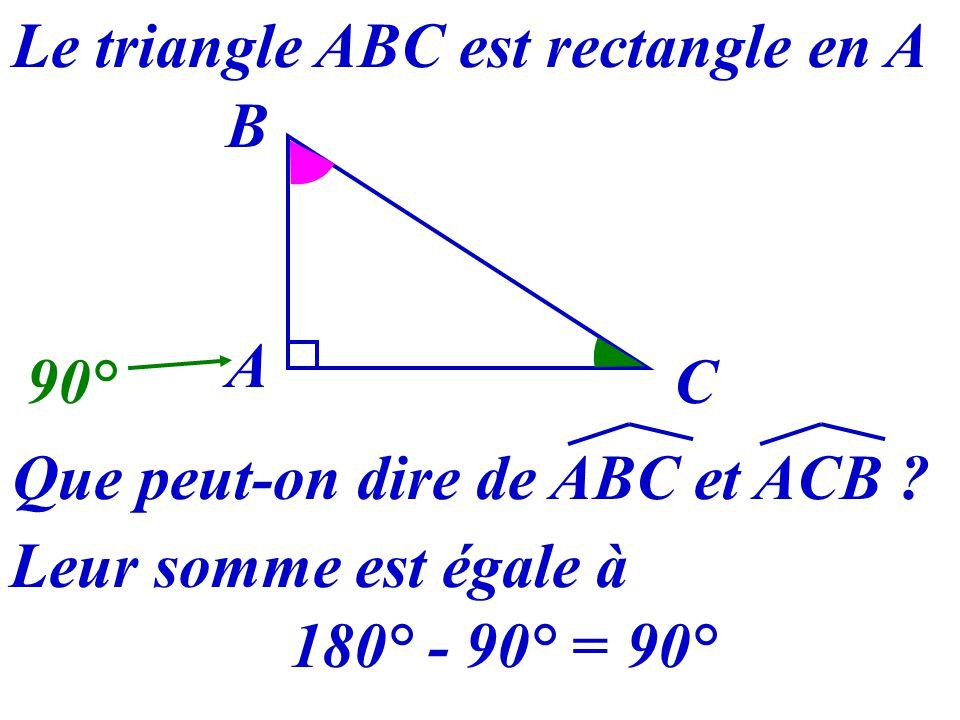 27 Triangle rectangle