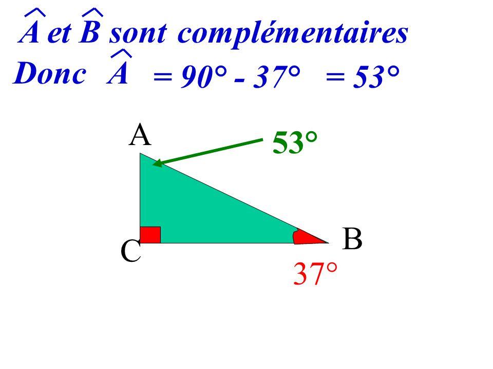 A C B 37° ?