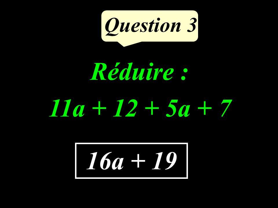 Question 2 Compléter pour que légalité écrite soit vraie : 8 × ….. = 56 7