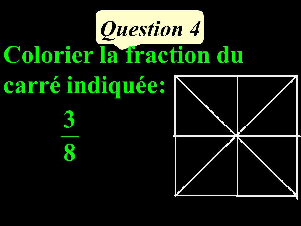 Question 3 Dans un bouquet, des fleurs sont des roses.