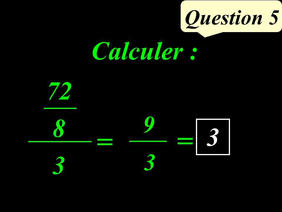 Question 4 BC AH 2 = 8 3 2 = 12 cm² Aire de ABC BC=8 cm AB= 7 cm AC=5 cm AH= 3 cm