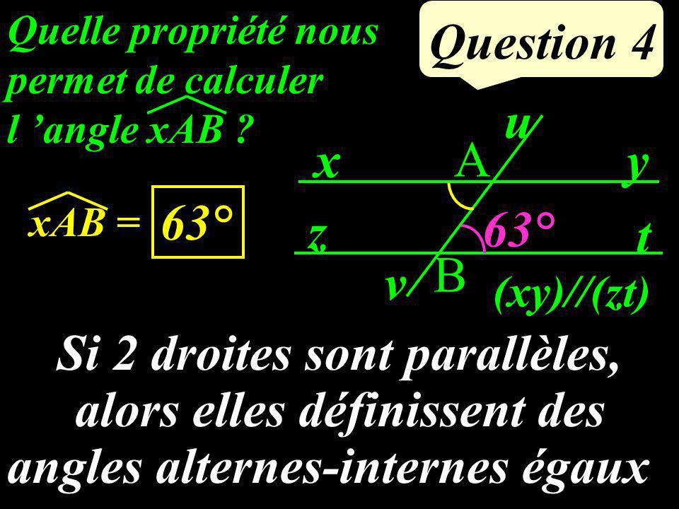 Question 3 Calculer : 4 21 5757 + 19 21 = 4 21 + 15 21 =