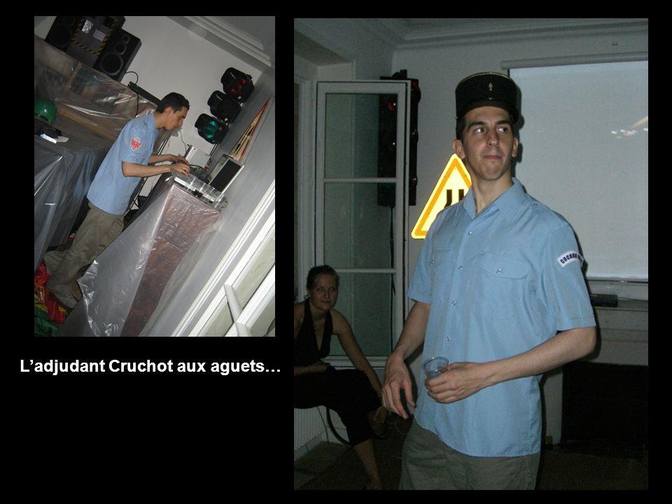 Ladjudant Cruchot aux aguets…
