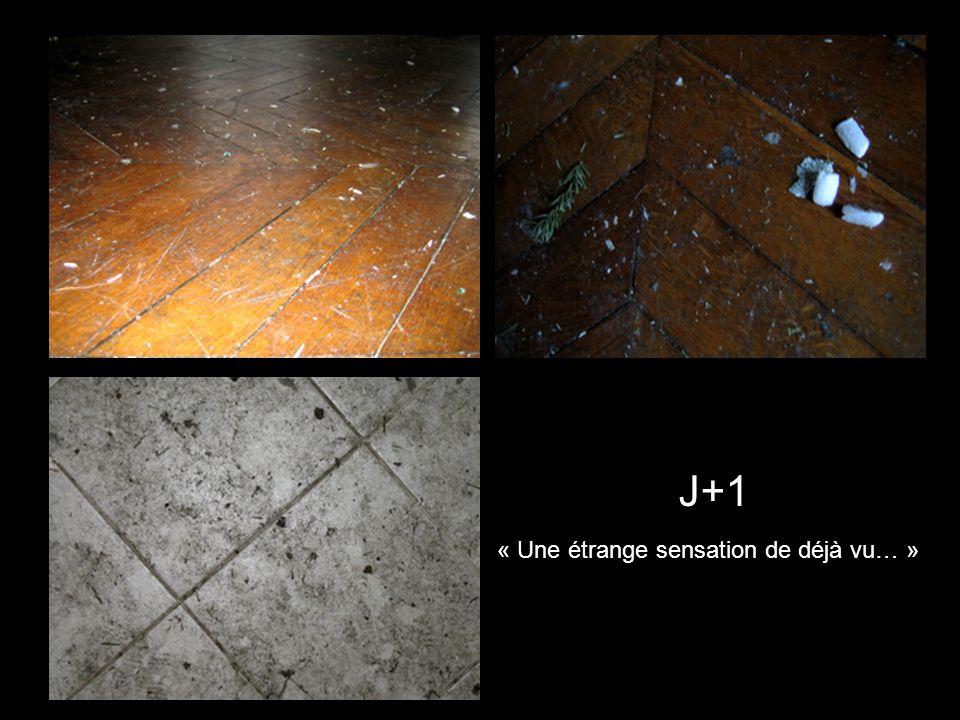 J+1 « Une étrange sensation de déjà vu… »