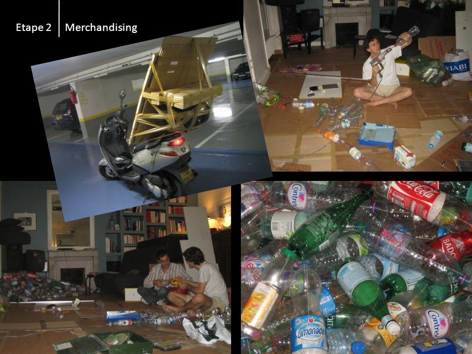 Etape 2 Merchandising