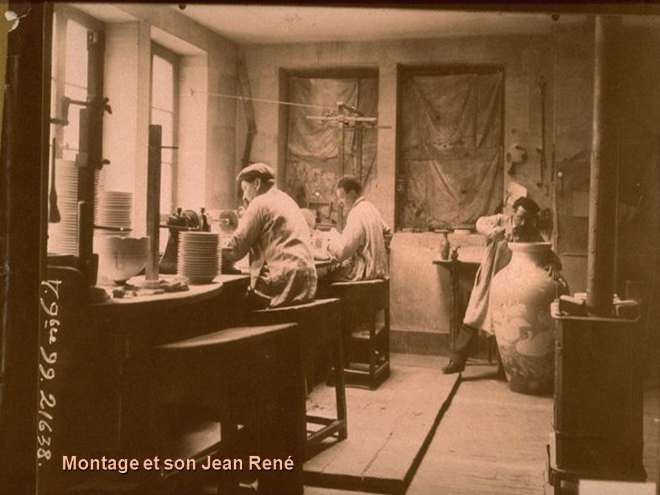 Autres styles : la pièce de gauche est le vase Blanc de Michel Lucotte, dit vase