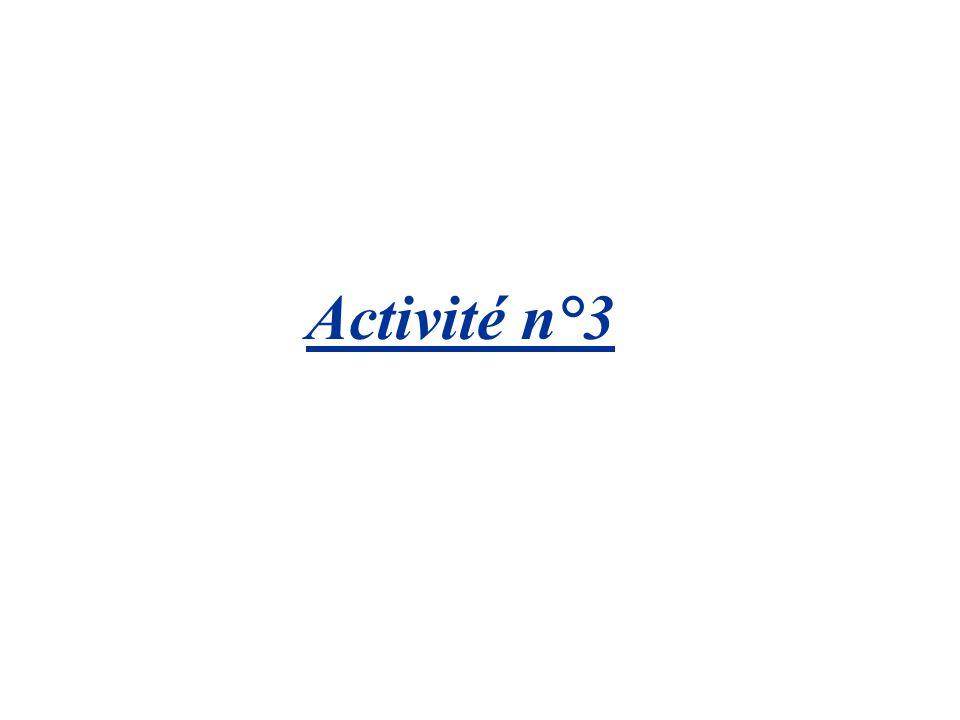 Activité n°3