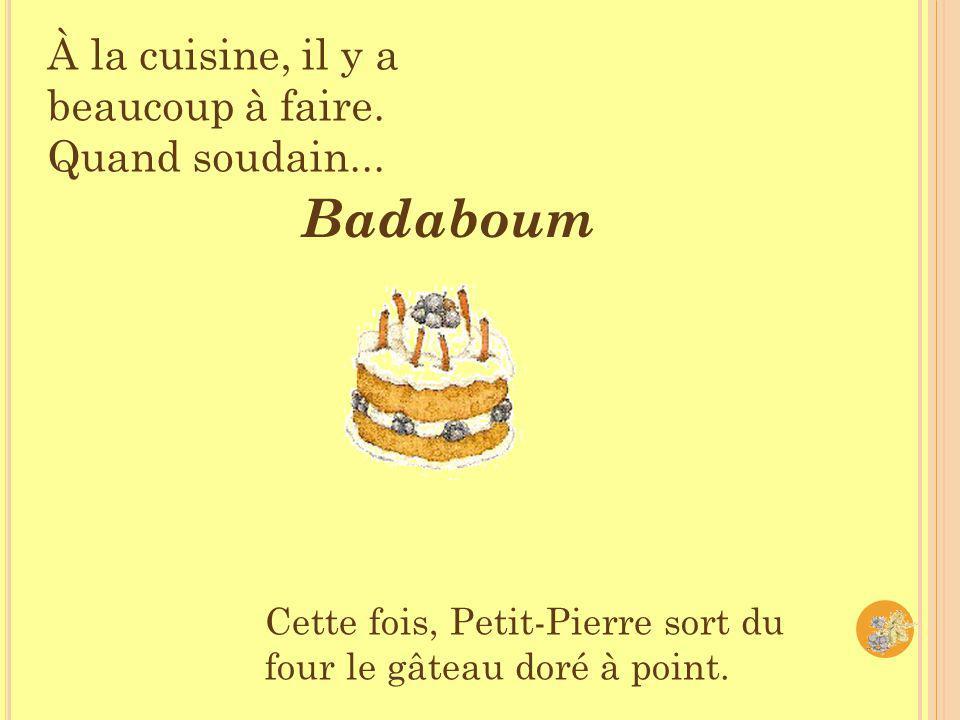 Petit-Pierre et Grabouille ont vite rempli leurs paniers de mûres.