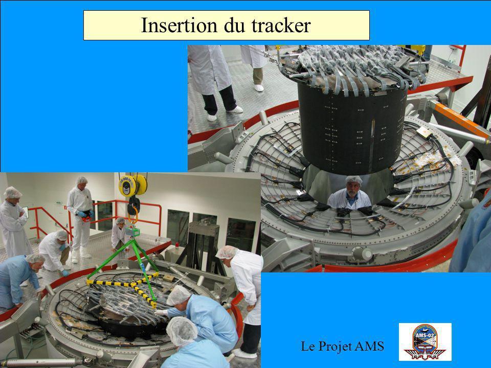 Le Projet AMS Insertion du tracker