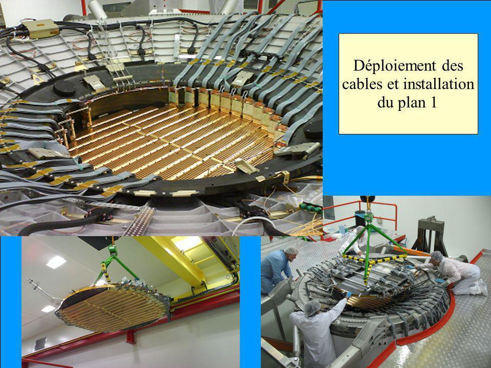 Le Projet AMS Déploiement des cables et installation du plan 1