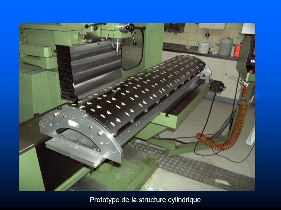 Prototype de la structure cylindrique