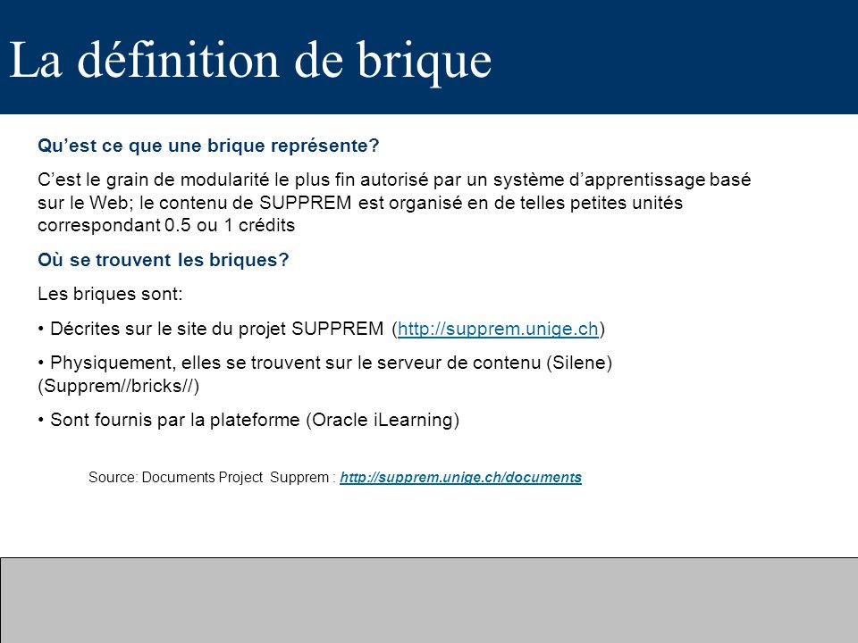Exemple 1 : Cours Biosafety 1.