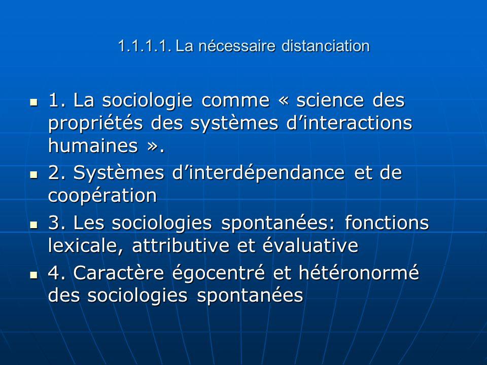 5.Quelques raisons du développement dune sociologie académique au 19 ème: 5.