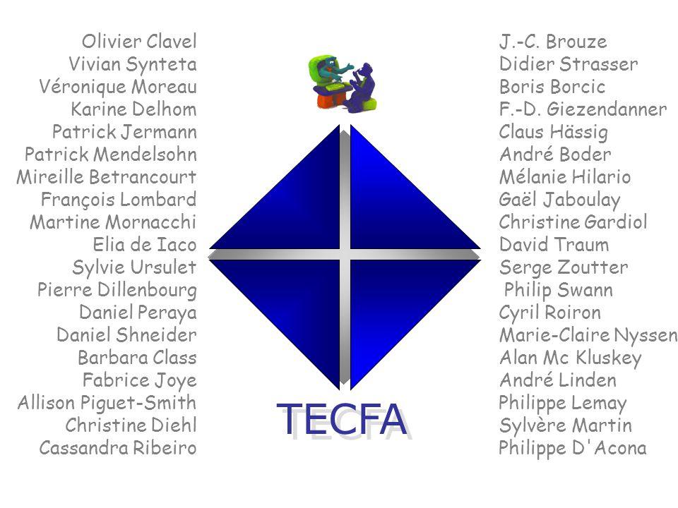 FPSEUniGeCitéCH Europe Groupe Mandrin (FR) Cogniscience (FR) LHM (European Science Foundation) Tempus, Delta I & II, Humanities I & II, VDML, Socrates, Leonardo, IST SMILE (UK) ICDS (Romania) Tekes (Finlande)