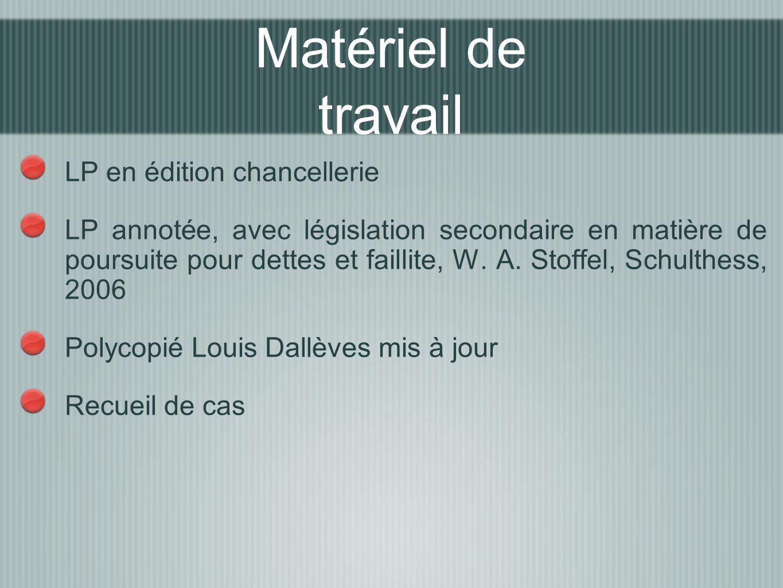 LP en édition chancellerie LP annotée, avec législation secondaire en matière de poursuite pour dettes et faillite, W. A. Stoffel, Schulthess, 2006 Po