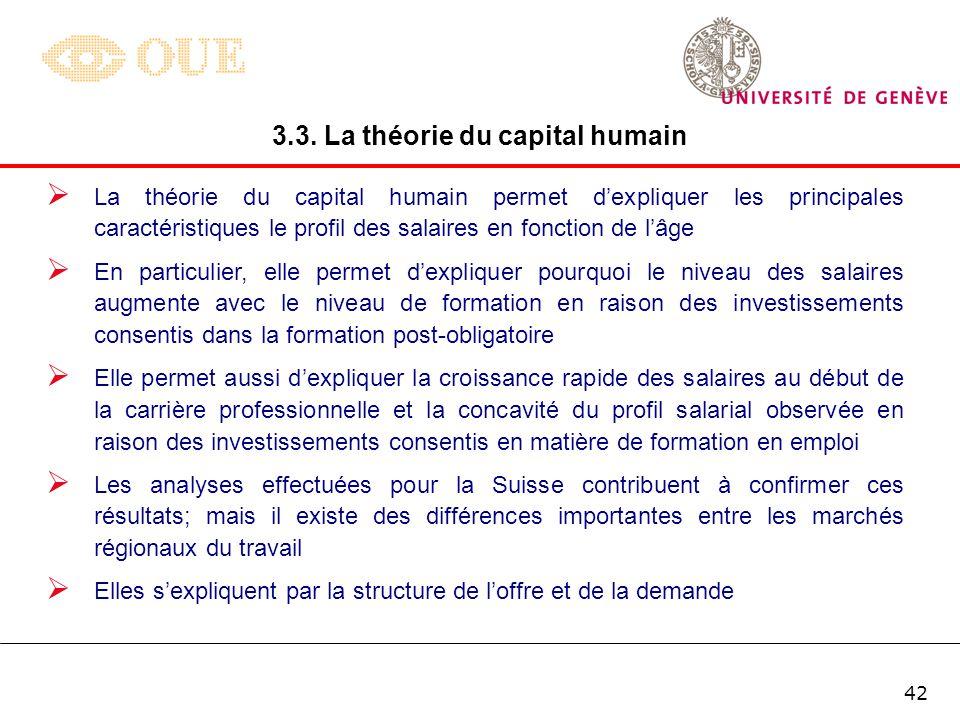 41 3. Hashimoto (1979) développe un modèle dans lequel le taux de départ des travailleurs par période est une fonction négative du taux de salaire div