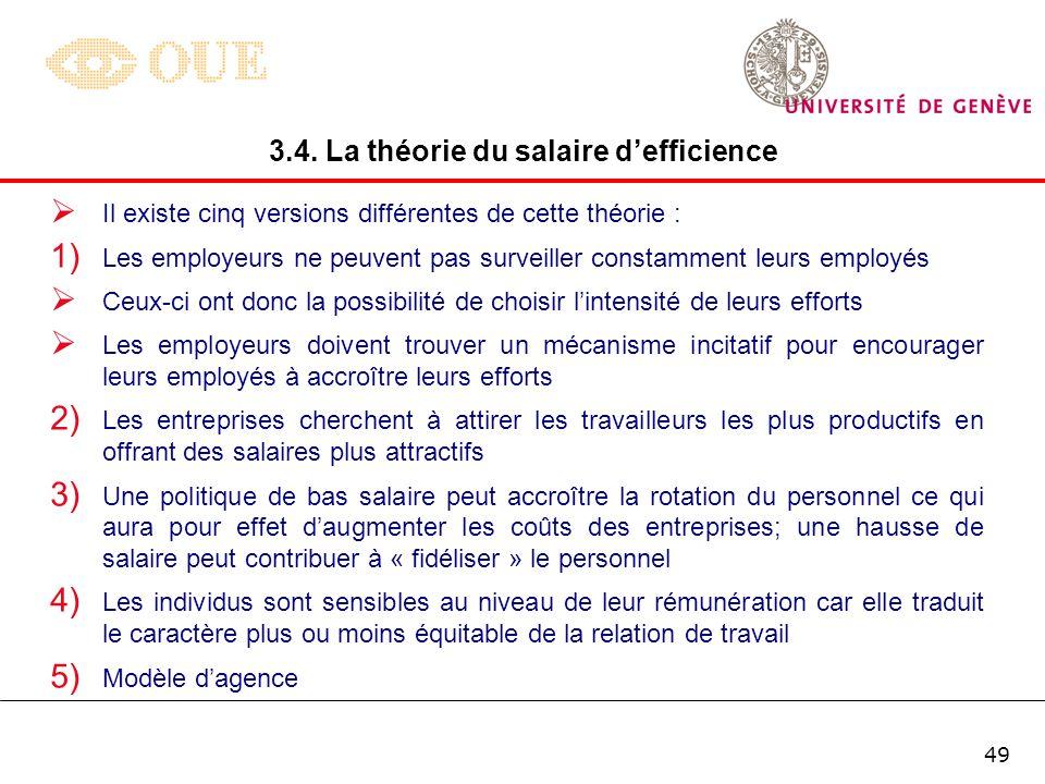 48 De plus, certains économistes comme Spence (1973) considèrent que la formation naccroît pas la productivité du travailleur mais constitue simplemen