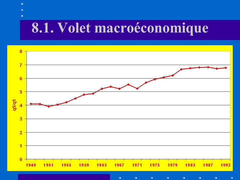 8.1. Volet macroéconomique