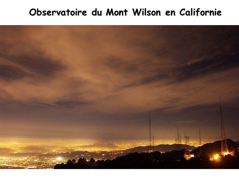 Observatoire du Mont Wilson en Californie