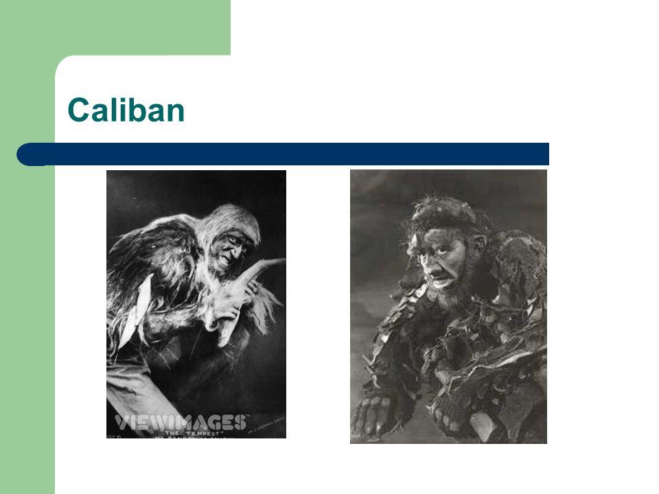 1.Frank Robert Benson dans le rôle de Caliban (1904).