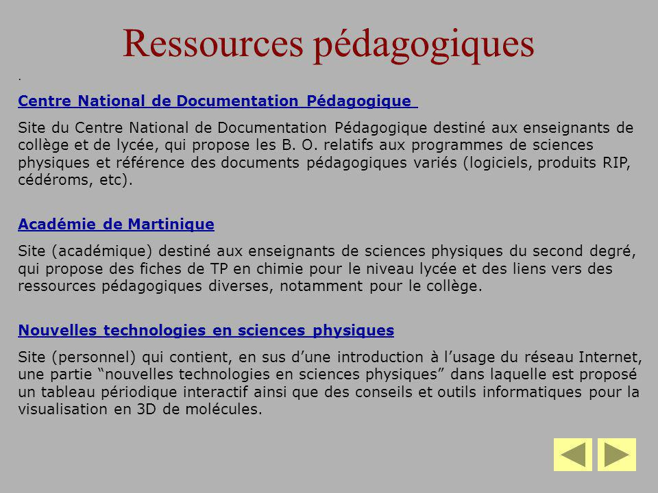 Ressources pédagogiques. Centre National de Documentation Pédagogique Site du Centre National de Documentation Pédagogique destiné aux enseignants de