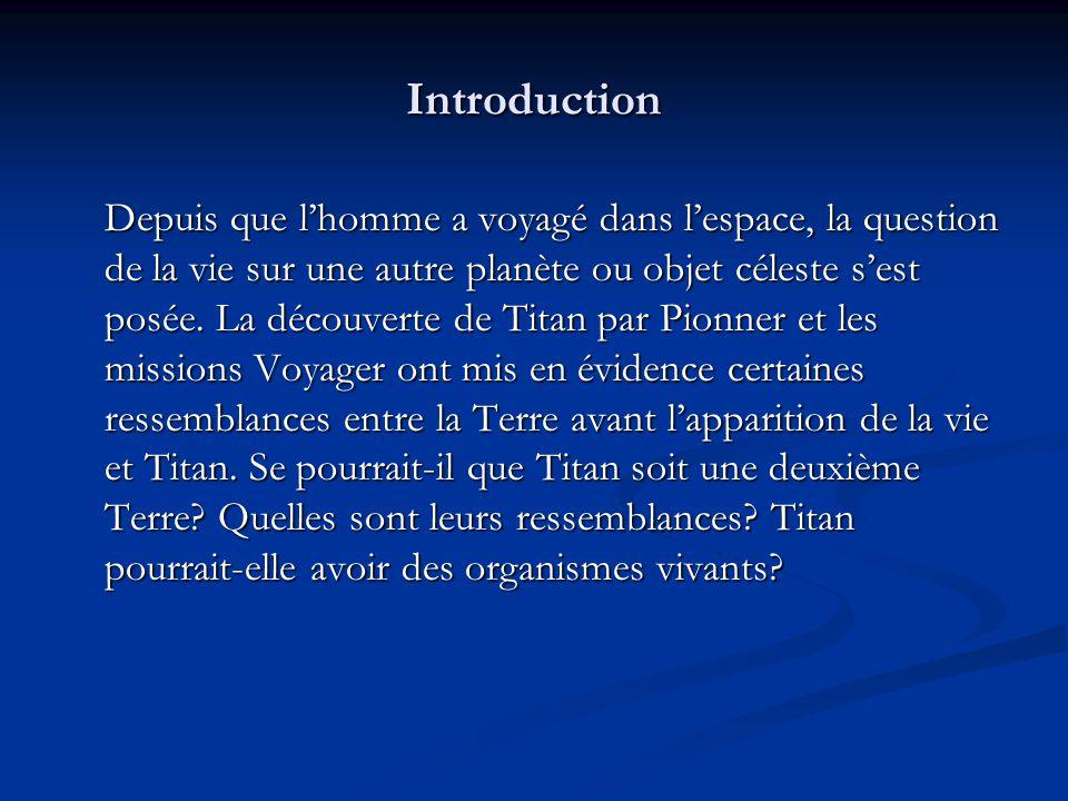 Introduction Depuis que lhomme a voyagé dans lespace, la question de la vie sur une autre planète ou objet céleste sest posée.