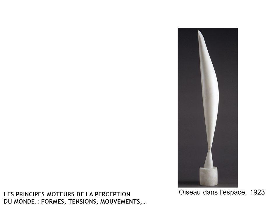 Oiseau dans lespace, 1923 LES PRINCIPES MOTEURS DE LA PERCEPTION DU MONDE.: FORMES, TENSIONS, MOUVEMENTS,…