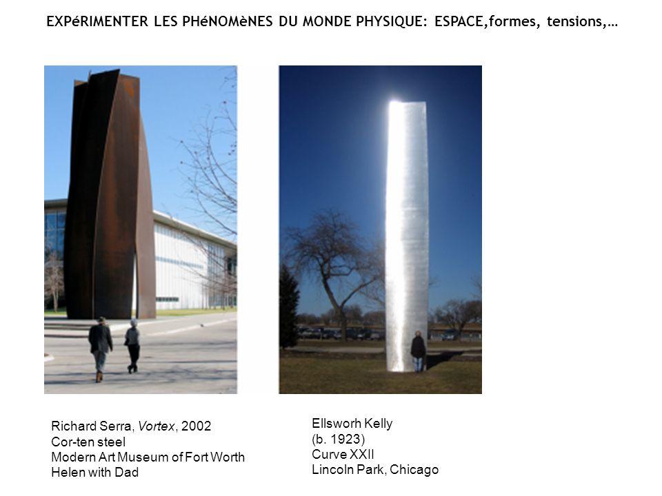 Barbara Hepworth (1903-1975) Squares with Two Circles (Monolith), 1963 (cast 1964) Bronze Nasher Sculpture Center Garden, Dalas Mark di Suvero (b.