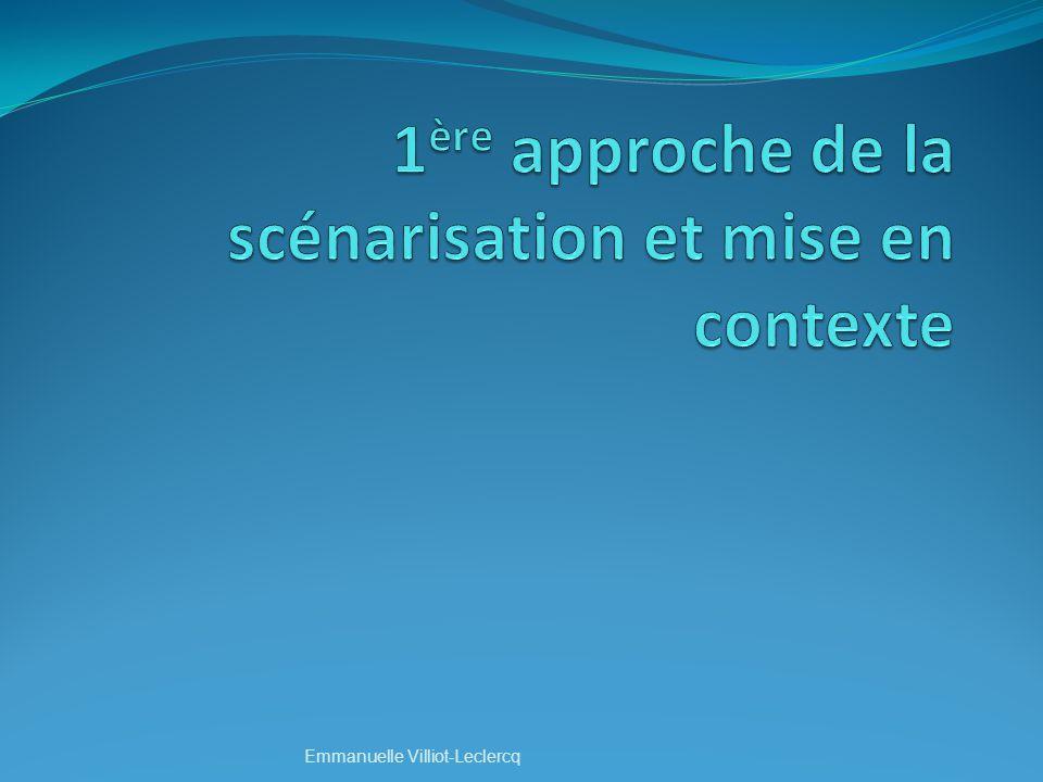 Contexte denseignement supporté par les TICE et FOAD Emmanuelle Villiot-Leclercq