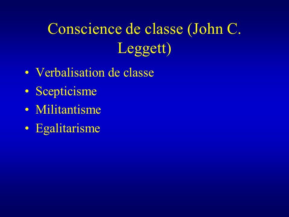 Conscience de classe (John C.