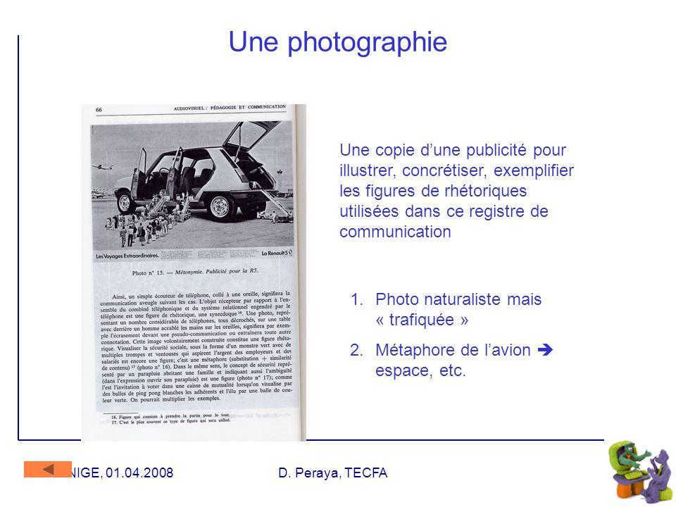 UNIGE, 01.04.2008D. Peraya, TECFA Communication immédiate vs médiatisée Communication médiatisée : Médias : communication de masse Médium : intermédia