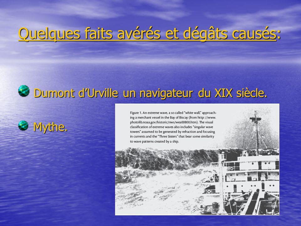 Quelques faits avérés et dégâts causés: Dumont dUrville un navigateur du XIX siècle.