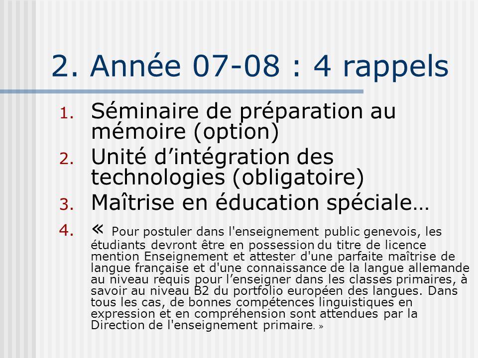 4. Se tenir informé www.unige.ch/fapse/SSE/teaching/lme/
