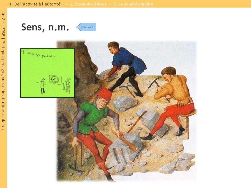 UniGe | FPSE | Pratiques pédagogiques et institutions scolaires Activité, n.f.