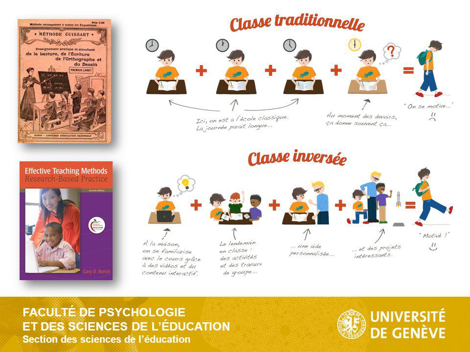 FACULTÉ DE PSYCHOLOGIE ET DES SCIENCES DE LÉDUCATION Section des sciences de léducation