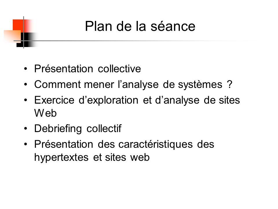 Dans un hypertexte, linformation est : découpée en unités d information structurée en réseau.