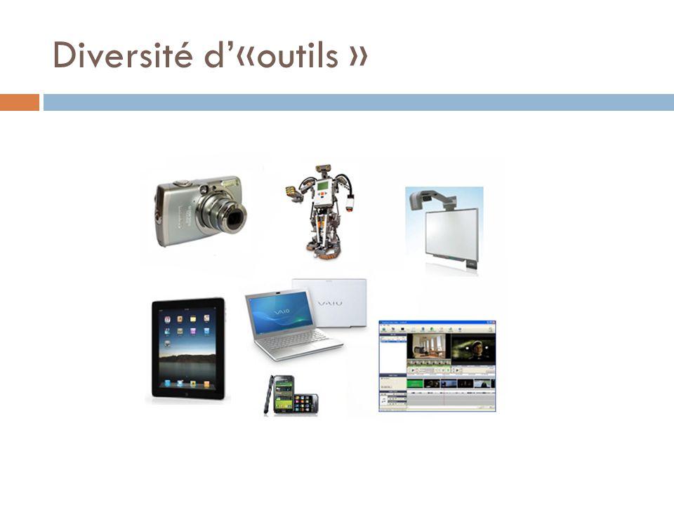 Diversité d«outils »