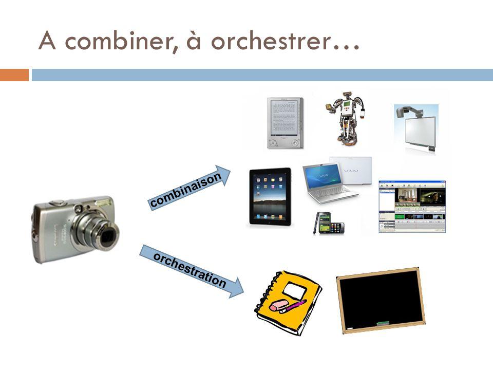 A combiner, à orchestrer… combinaison orchestration