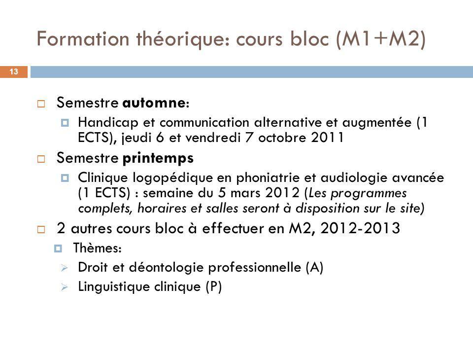 Formation clinique 14 Séminaires ARP (Troubles dév.